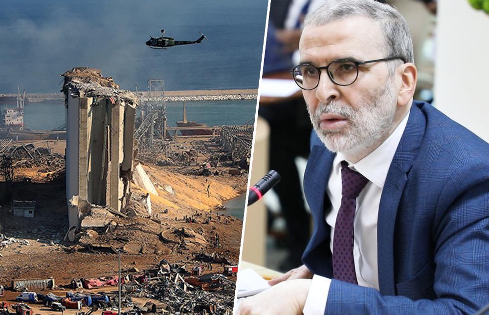 مصطفى صنع الله - مرفأ بيروت