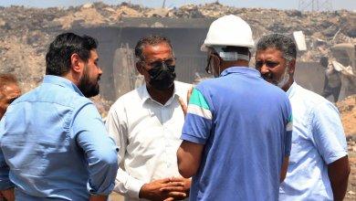 العبدلي يتفقد محطة كهرباء جنوب طرابلس الغازية