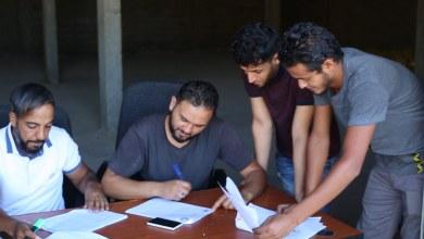 بلدية الأبيار تشرع في توزيع مساعدات غذائية على 246 عائلة نازحة