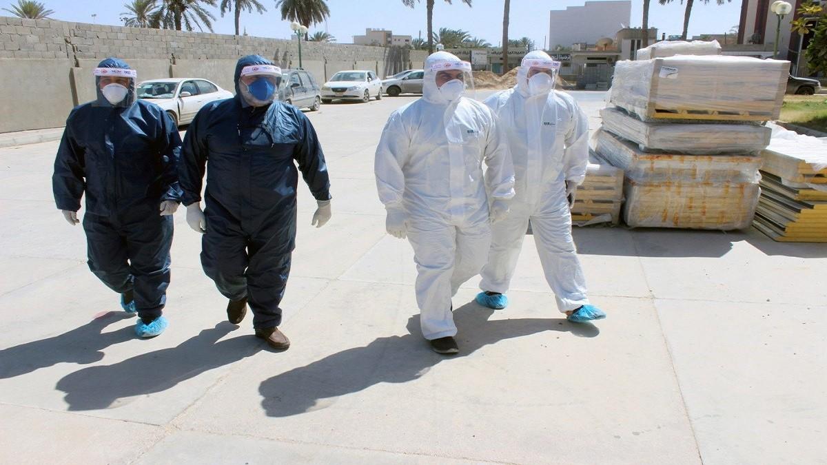 ليبيا تسجل 153 إصابة جديدة بفيروس كورونا بعد فحص 1003 عينة من أكثر من 14 مدينة وبلدة