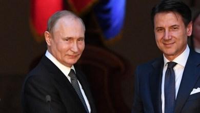 الرئيس الروسي فلاديمير بوتن ورئيس الوزراء الإيطالي جوزيبي كوني يتفقان على ضرورة عودة الليبيين للمسار السياسي