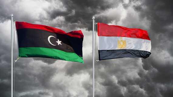 مصر و علم ليبيا