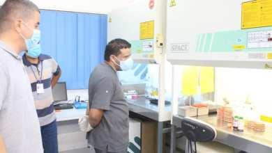 الجالي يتفقد أقسام مركز طبرق الطبي