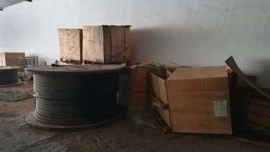 أمن الجفارة يضبط كمية كبيرة من المعدات الكهربائية