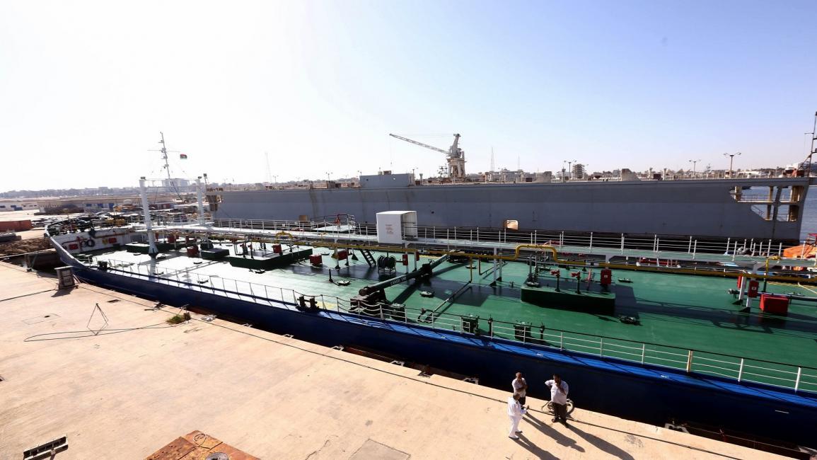 """ميناء الزويتينة النفطي -""""أرشيفية"""""""