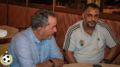 رئيس الاتحاد الليبي لكرة القدم عبدالحكيم الشلماني يلتقي بطاقم منتخب ليبيا للناشئين