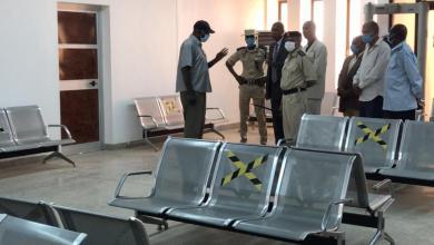 المجلس البلدي يطلع على أوضاع مطار المدينة - غات