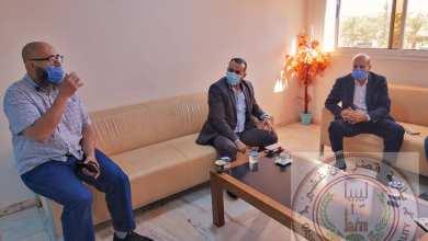بلدية قصر بن غشير تبحث حل أزمة الازدحام