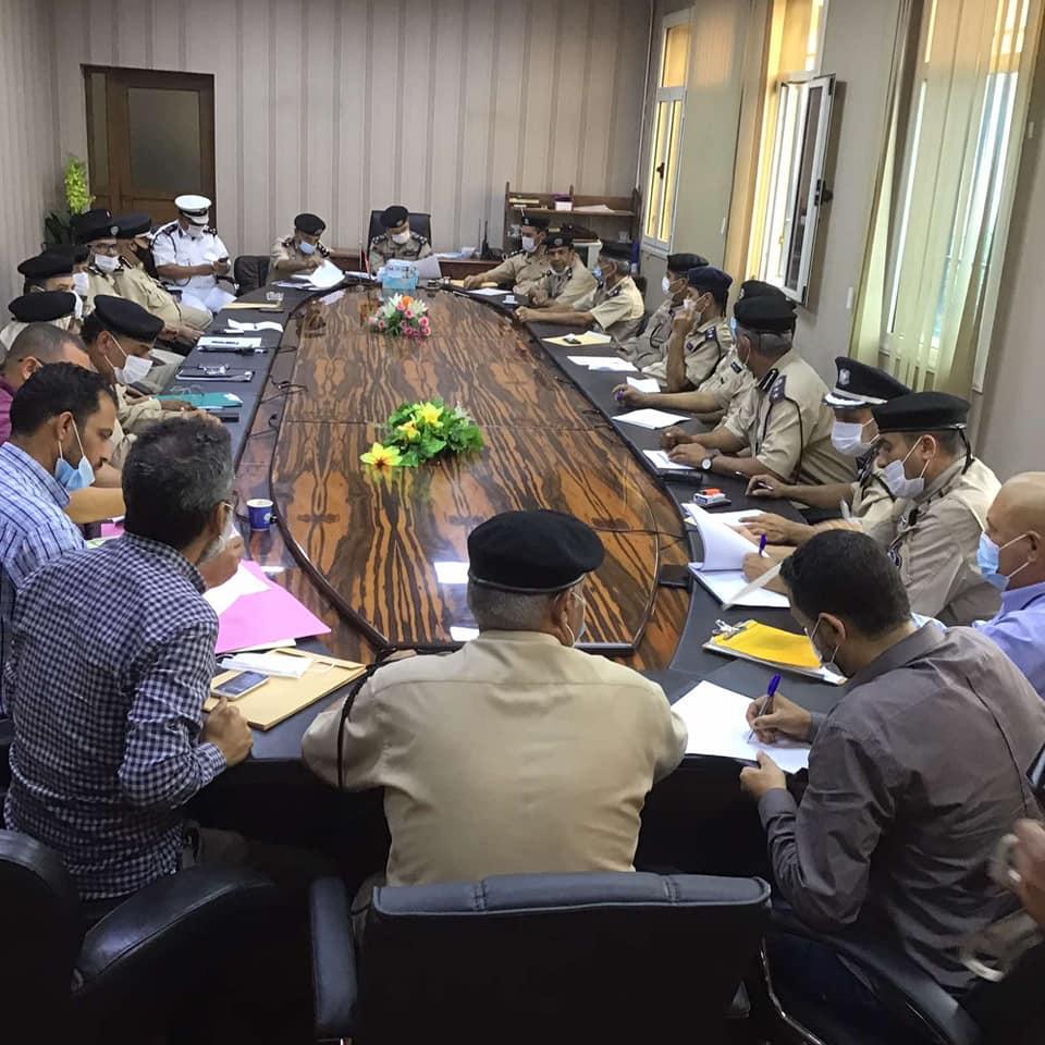 اجتماع موسع لمديرية أمن طرابلس بشأن صيانة مراكز الشرطة