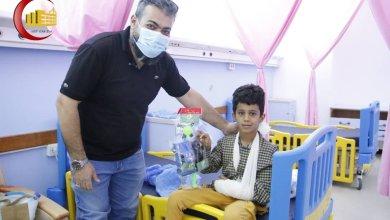 مركز بنغازي الطبي ينظم احتفالية للأطفال بمناسبة المولد