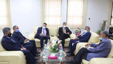 مدير عام الشركة العامة للكهرباء يستقبل سفير الاتحاد الاوروبي لدى ليبيا