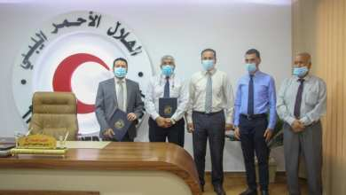 الهلال الأحمر الليبي يوقع اتفاقية مع مركز البحوث بنغازي