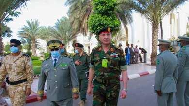"""الفريق محمد الحداد """"رئيس أركان قوات الوفاق"""" في زيارة رسمية لموريتانيا"""