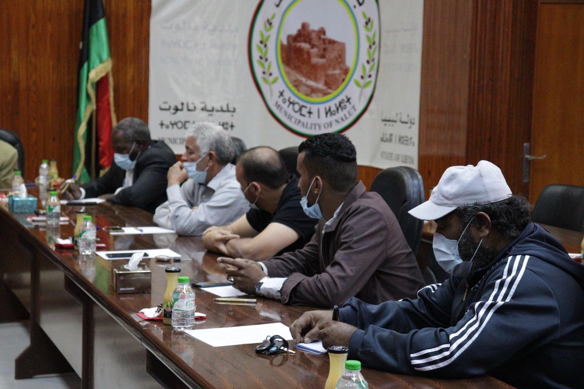 سلسلة اجتماعات محلية للتسريع في تنفيذ طريق نالوت -غدامس