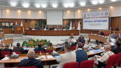 الندوة القانونية المحاكم الجنائية بين السياسة والقانون - مصراتة