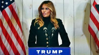 """ميلانيا ترامب: """"الشعب الأميركي يستحق انتخابات نزيهة"""""""