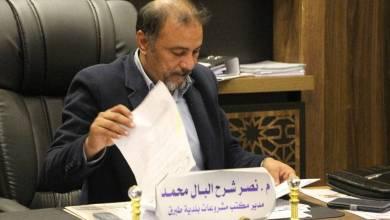 مدير مكتب المشروعات ببلدية طبرق نصر شرح البال