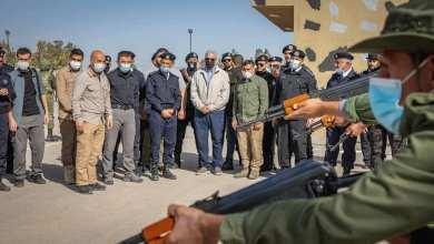 الدورة التدريبية الثامنة بمعهد الشرطة في مصراتة