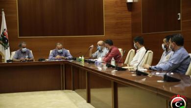 """من اجتماع رسمي لوزارة الصحة بحكومة الوفاق-""""أرشيف"""""""