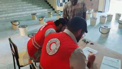 مشروع مشترك للهلال الأحمر الليبي واليونسيف لدعم النازحين