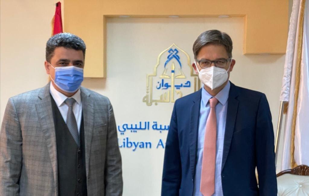 أوفتشا يلتقي رئيس ديوان المحاسبة خالد شكشك