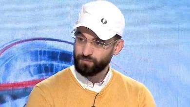 أحمد الشركسي- خلال لقاءه مع 218- إرشيفية