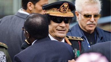 القذافي وموغابي