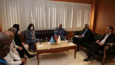 بوجواري يلتقي نائب مدير اليونسيف في ليبيا