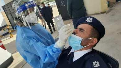 متابعة الكشف عن حالات كورونا في المؤسسات الحكومية داخل بلدية بوسليم بمدينة طرابلس