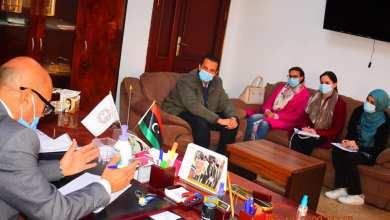 صكوح يعقد اجتماعا مع اللجنة الدولية للصليب الأحمر