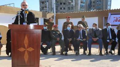 حفل افتتاح معرض للكتاب في بنغازي برعاية التوجيه المعنوي والمجلس البلدي