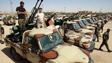 """قوات عسكرية تابعة للجيش الوطني-""""أرشيفية"""""""