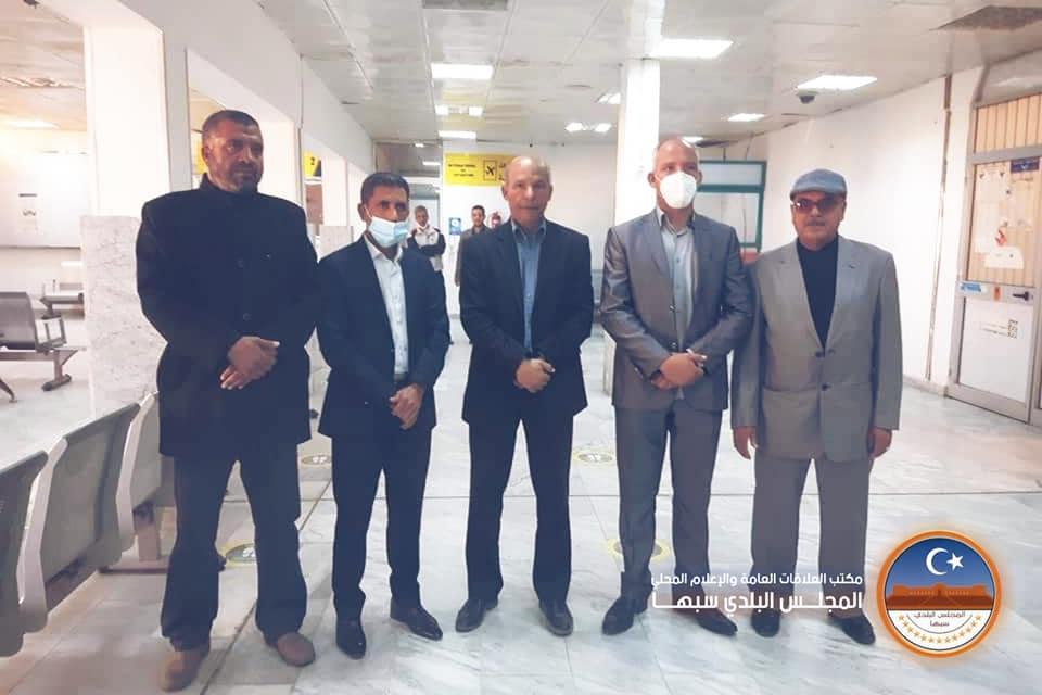 مراسم توقيع تنفيذ مشروع إنارة شارع جمال عبدالناصر بخلايا الطاقة الشمسية
