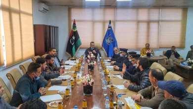 ثاني اجتماع لداخلية الوفاق في طرابلس مع قادة المحاور لدمج المقاتلين من التشكيلات الموازية بأجهزة الوزارة الأمنية