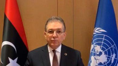 السفير تميم مصطفى بعيو مندوب ليبيا لدى مكتب الأمم المتحدة في جنيف