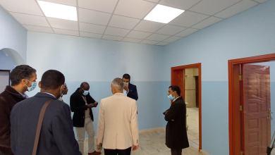استلام عيادة حي التحرير في مدينة سبها بعد تجديدها برعاية برنامج الأمم المتحدة الإنمائي