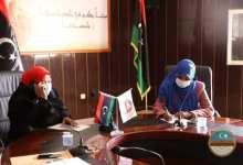 اجتماع نسائي حول دور المرأة في سبها
