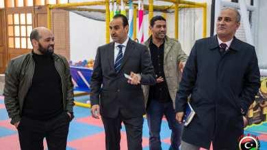 الجالي يستلم مهام الشؤون الإدارية بصحة الوفاق