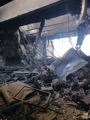 الأكاديمية تنشر صور جديدة لموقع الحريق