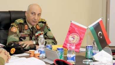الفريق أول ركن محمد الحداد - رئيس أركان قوات الوفاق