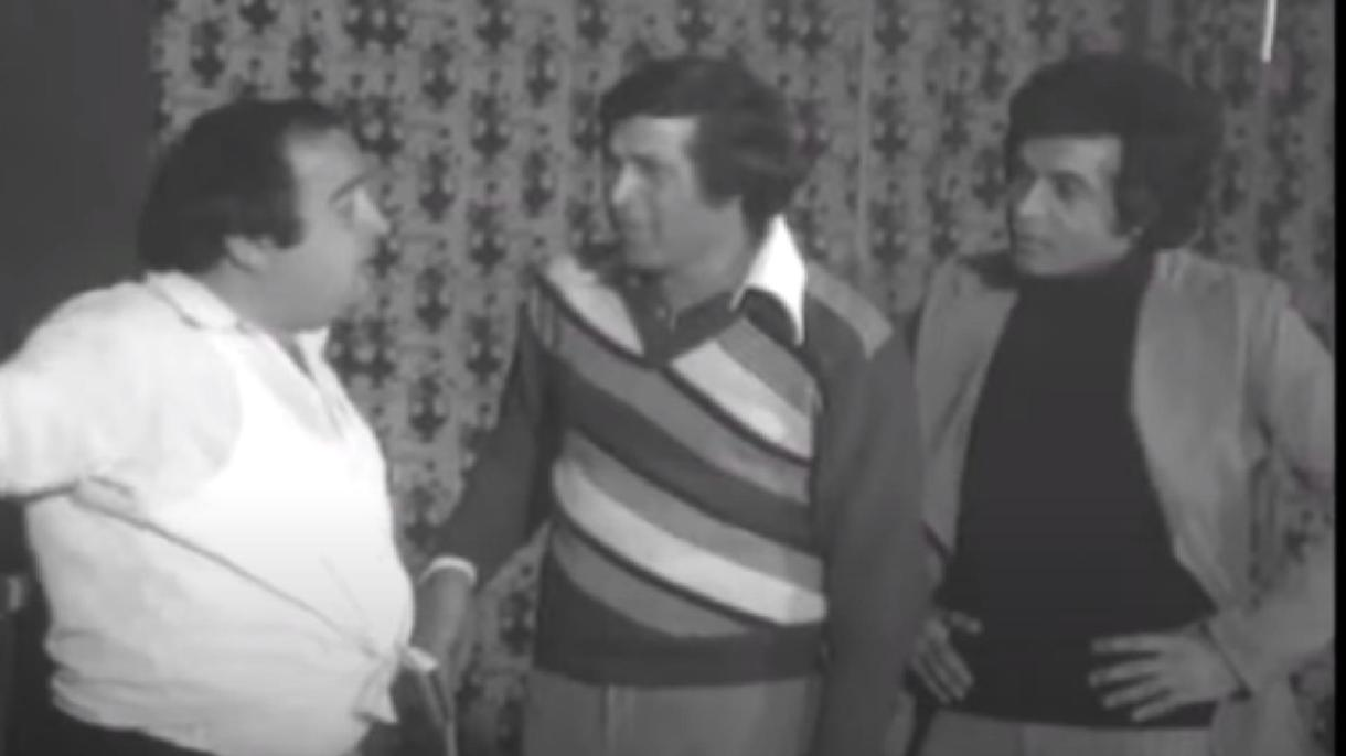 مشهد من مسرحية مدرسة المشاغبين  يجمع الجيار مع سعيد صالح ويونس شلبي