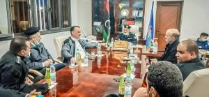 اجتماع في مديرية أمن جادو بشأن ضم مقاتلي الجماعات المسلحة لوزارة الداخلية