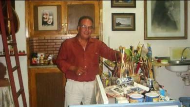 الفنان مرعي التليسي- إرشيفية