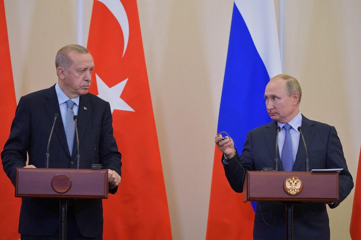 بوتين وأردوغان- إرشيفية