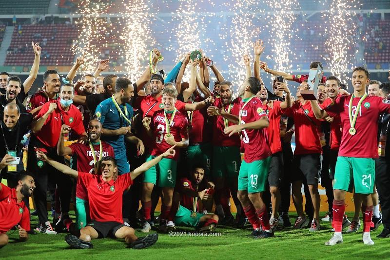 المغرب ثاني مرة .. بطلاً للشان .. بطولة أفريقيا للاعبين المحليين