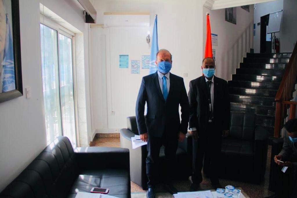عميد بلدية جالو تجتمع مع ممثل برنامج الأمم المتحدة الإنمائي