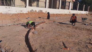 """""""أبوسليم"""".. انطلاق العمل لإنشاء حديقة غرغور"""