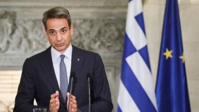 """رئيس الوزراء اليوناني """"كرياكوس ميتسوتاكيس"""""""
