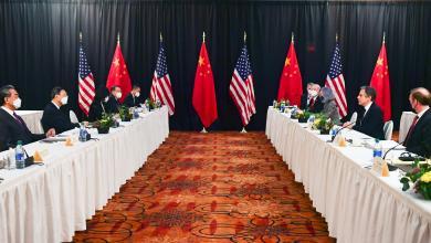 المحادثات الأميركية الصينية في ألاسكا بخصوص مكافحة تغير المناخ