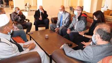 وفد المنظمات الأممية العاملة في ليبيا يزور مدينة غدامس
